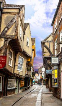 The Shambles, York, Angleterre