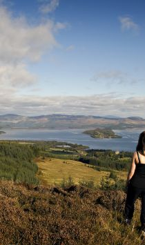 Views over Loch Lomond