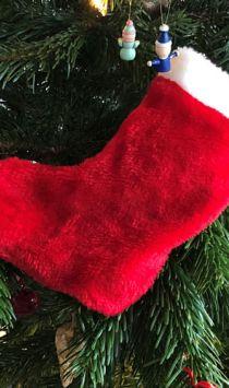 Maak je eigen kerstsok met deze handige handleiding