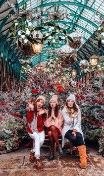 Christmas at Covent Garden Market, London, England