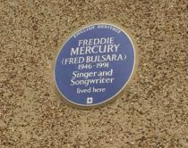 Freddie Mercury Blue Plaque