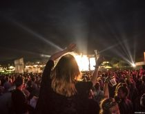 Summer music festivals in Britain