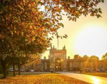 Blenheim Palace Garden Autumn