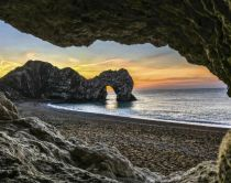 Durdle Door an der Südküste Englands
