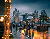 Tower Bridge en hiver