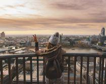 Die Aussicht von St Pauls über London
