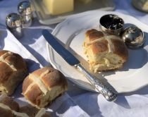 Hot Cross Buns zum selber backen