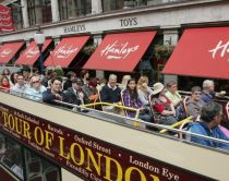 Open top bus tours