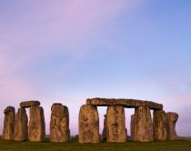 Stonehenge al tramonto