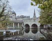 Aussicht auf due Stadt Bath