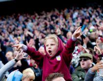 Aston Villa fans. Credit Aston Villa FC