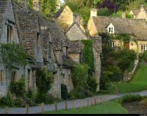 Le village de Bibury dans les Cotswolds, en Angleterre.