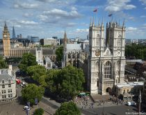 Westminster Abbey, London. The vast abbey has held coronations since 1066.