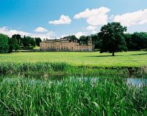 Broughton Hall, Yorkshire. A large stately home, part of the Broughton Hall Estate.