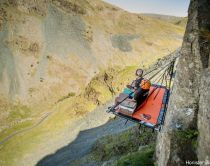 Honister Cliff Camping, Lake District