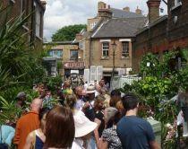Columbia Road Flower Market, Londres