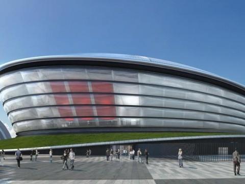 Glasgow's Commonwealth Games stadium
