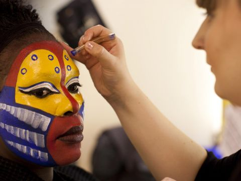 Behind the scenes of Disney's The Lion King West End show