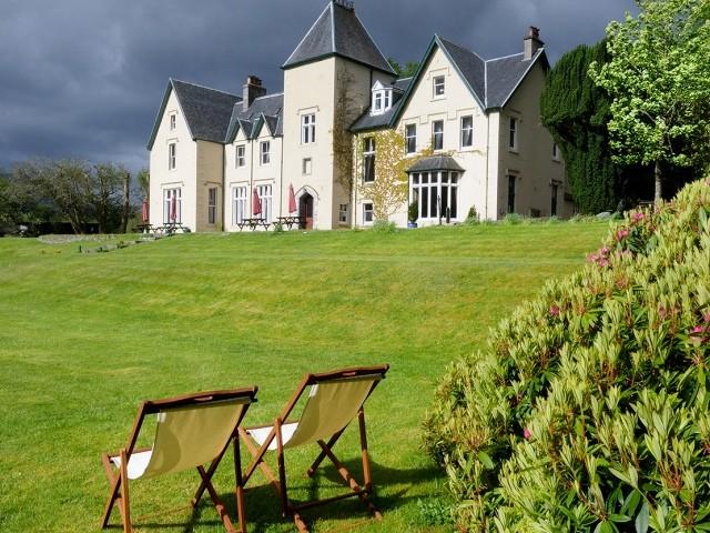Glenfinnan hotel, Scotland