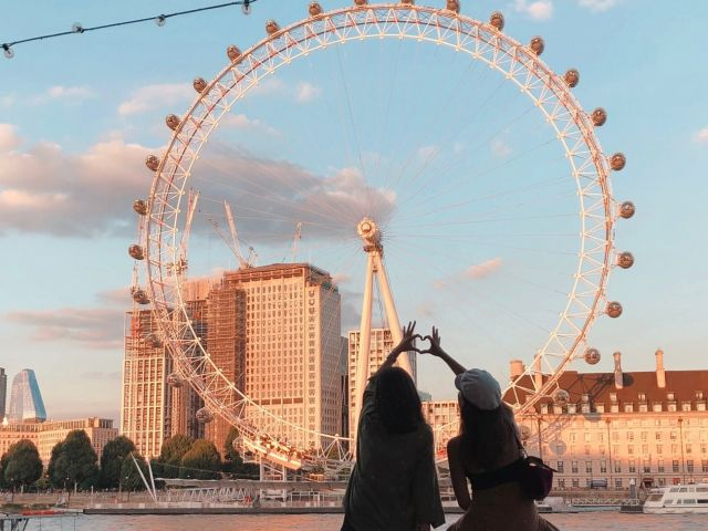 London Eye, London, Greater London.