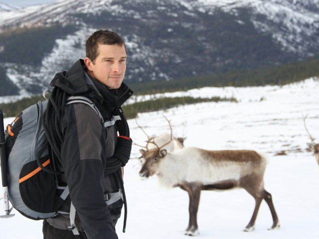 Bear Grylls in Scotland