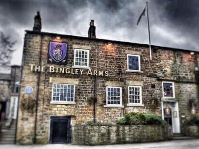 The Bingley Arms Pub in Engeland