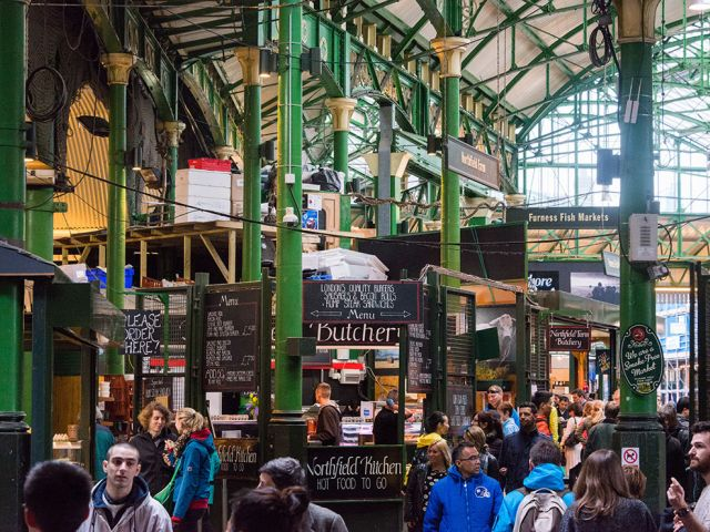 Borough Market, South London, England