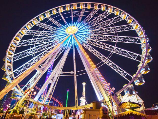 Hasta el 6 de enero, Hyde Park se viste de Navidad con la celebración del festival Winter Wonderland.