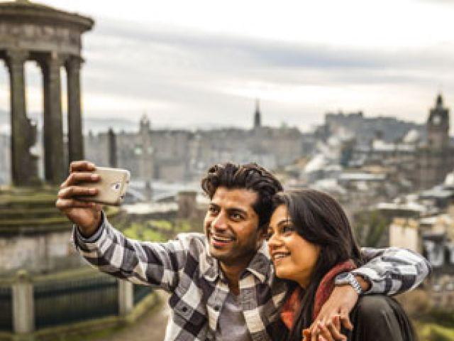 Edinburgh in de najaar