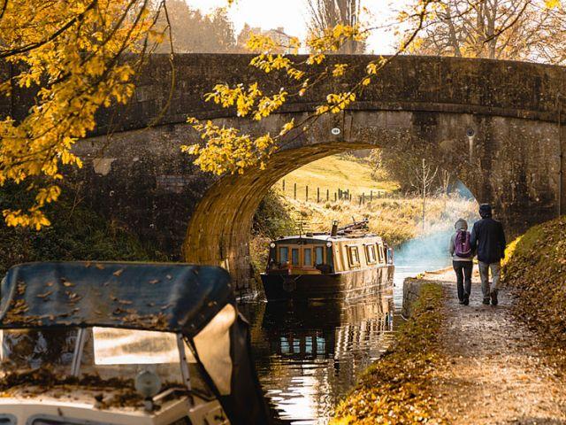Kennet en Avon Canal bij Bath