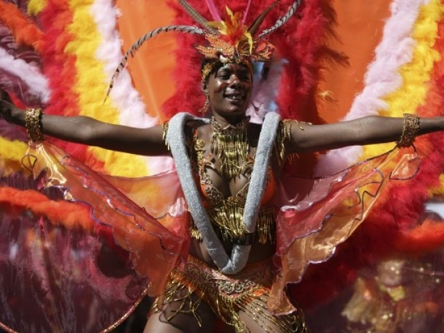Notting hill carnival performer
