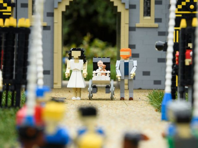 Archie, Meghan & Harry in Legoland
