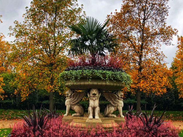 Herfst in Regent's Park, Londen