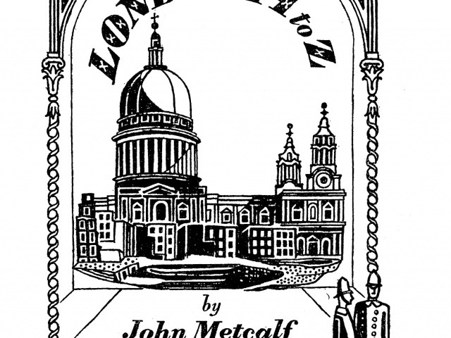 London A-Z guide book front cover illustration