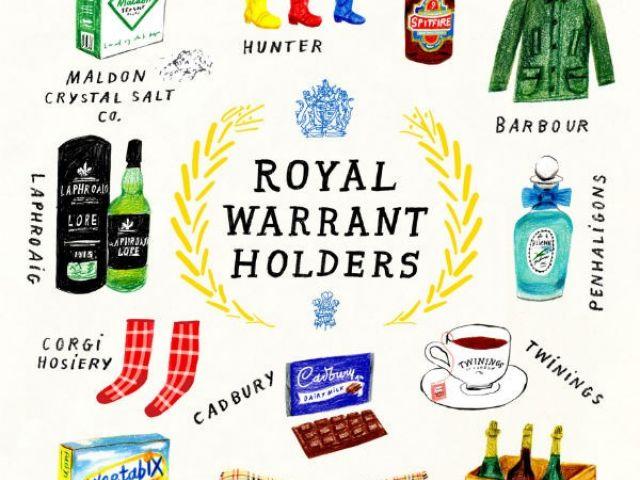 Illustrations of Royal Warrant Holders