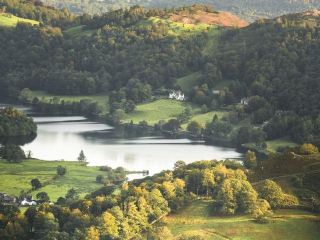 Grasmere Lake, Lake district