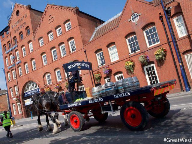 Wadworth Brewery aan de Great West Way
