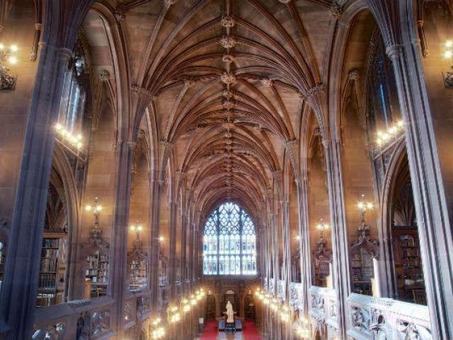 John Rylands Library © VisitEngland/Percy Dean
