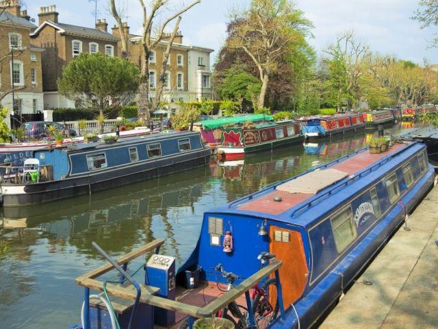 Little Venice, de waterrijke wijk in het noorden van Londen