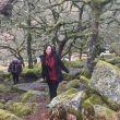 Priscila Moraes at Darmoor National Park, England