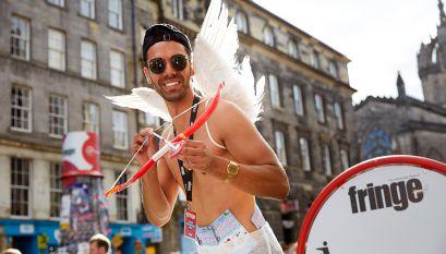 Pride festival Edinburgh
