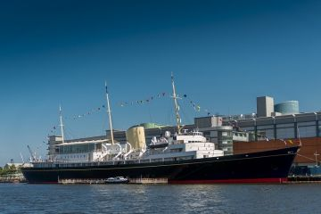 Royal Yacht Britannia, leith harbour