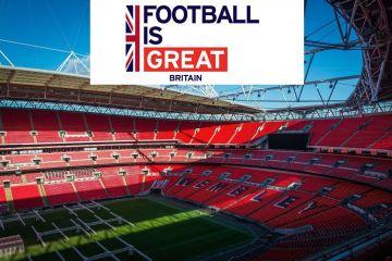 Wembley Football Stadium, London