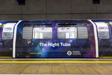 Metro nocturno