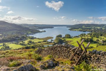Windermere in the English Lake District
