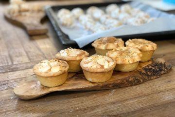 Mince pie workshop finish result