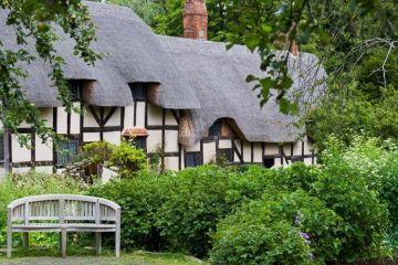 Stratford-upon-Avon na Inglaterra, a cidade natal do Shakespeare