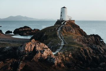 iconic Twr Mawr Lighthouse