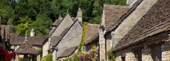 Village dans les Cotswolds