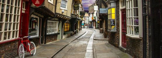 The Shambles in York, Nordengland